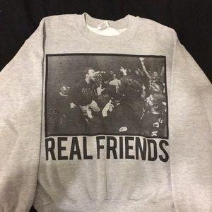 Real Friends Band Crewneck